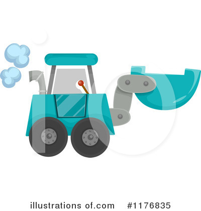Excavator Clipart #1176835 by BNP Design Studio