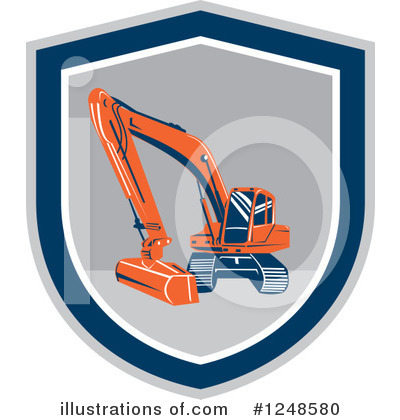Heavy Machinery Clipart #1248580 by patrimonio