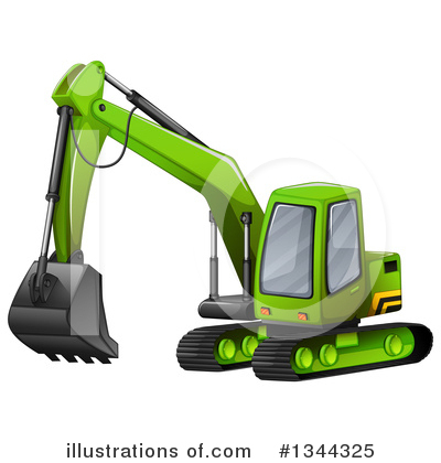 Heavy Machinery Clipart #1344325 by Graphics RF
