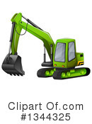 Excavator Clipart #1344325 by Graphics RF