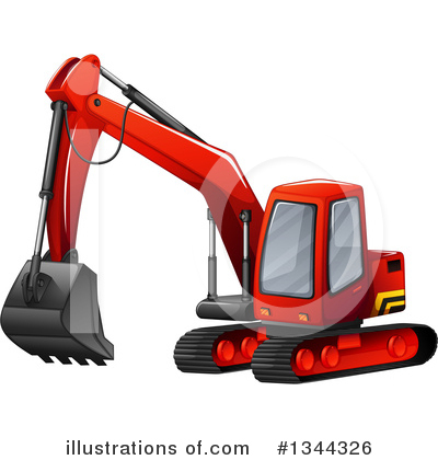 Heavy Machinery Clipart #1344326 by Graphics RF