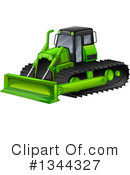Excavator Clipart #1344327 by Graphics RF