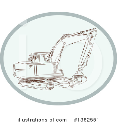 Heavy Machinery Clipart #1362551 by patrimonio