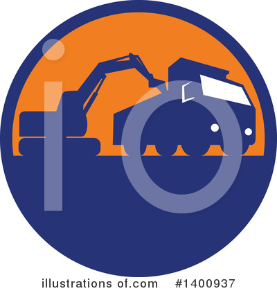 Heavy Machinery Clipart #1400937 by patrimonio