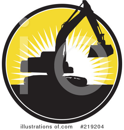 Bulldozer Clipart #219204 by patrimonio