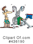 Exercise Clipart #436190 by toonaday