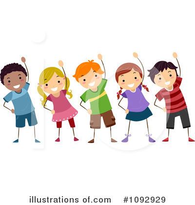 Exercising Clipart #1092929 - Illustration by BNP Design ...