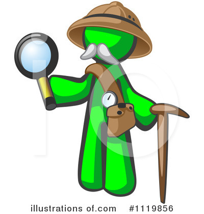 Green Design Mascot Clipart #1119856 by Leo Blanchette