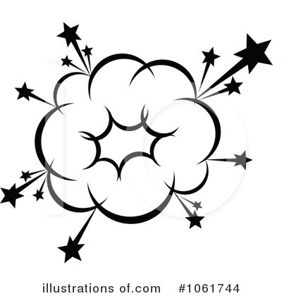 Explosion Black And White Clip Art Similar Explosion Clip Art and