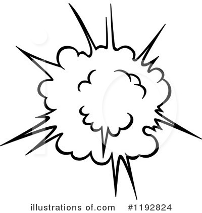 Explosion Clipart #1192824 by Vector Tradition SM