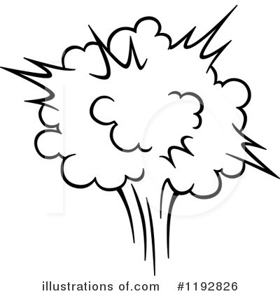 Explosion Clipart #1192826 by Vector Tradition SM