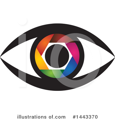 Eye Clipart #1443370 by ColorMagic