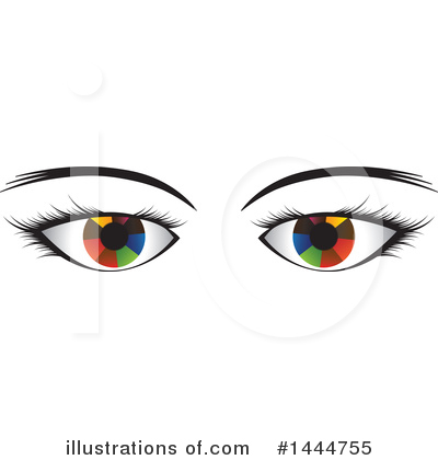 Eye Clipart #1444755 by ColorMagic