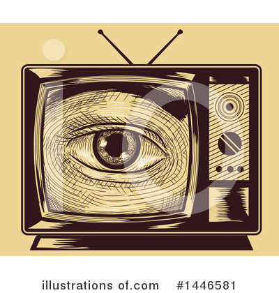 Tv Clipart #1446581 by BNP Design Studio