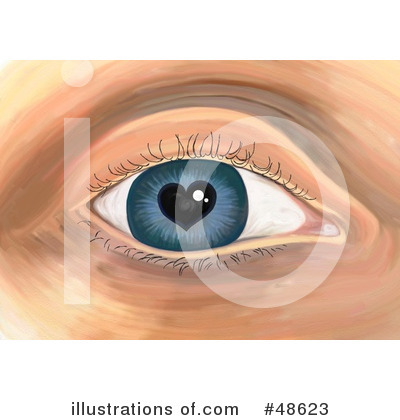 Royalty-Free (RF) Eye Clipart Illustration by Prawny - Stock Sample #48623