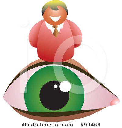 Royalty-Free (RF) Eye Clipart Illustration by Prawny - Stock Sample #99466