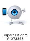 Eyeball Character Clipart #1273368 by Julos