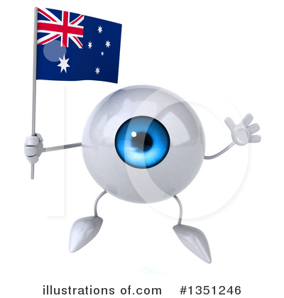 Eyeball Character Clipart #1351246 by Julos