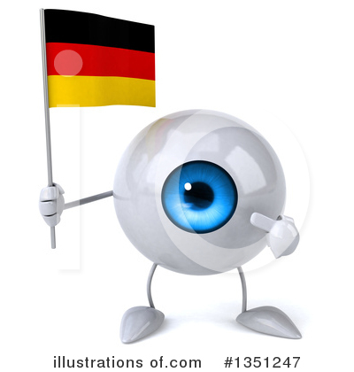 Eyeball Character Clipart #1351247 by Julos