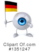 Eyeball Character Clipart #1351247