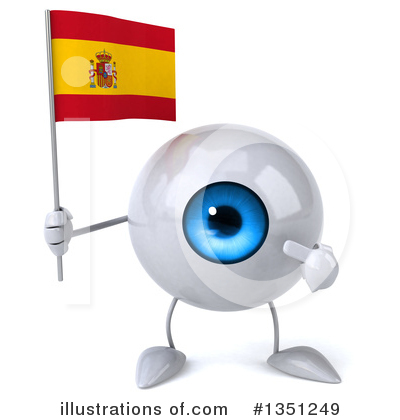 Eyeball Character Clipart #1351249 by Julos