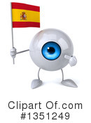 Eyeball Character Clipart #1351249