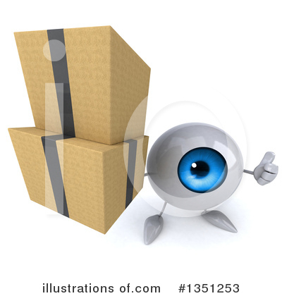 Eyeball Clipart #1351253 by Julos
