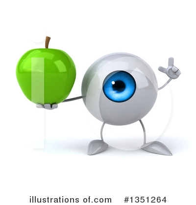 Eyeball Clipart #1351264 by Julos
