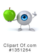 Eyeball Character Clipart #1351264