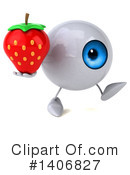 Eyeball Character Clipart #1406827 by Julos