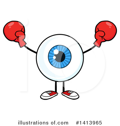 Boxing Clipart #1413965 by Hit Toon