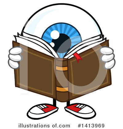 Eyeball Clipart #1413969 by Hit Toon