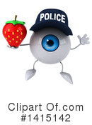 Eyeball Character Clipart #1415142 by Julos