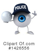 Eyeball Character Clipart #1426556 by Julos