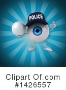 Eyeball Character Clipart #1426557 by Julos
