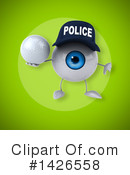 Eyeball Character Clipart #1426558 by Julos