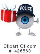 Eyeball Character Clipart #1426560 by Julos