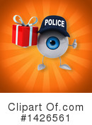 Eyeball Character Clipart #1426561 by Julos