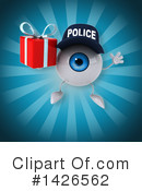 Eyeball Character Clipart #1426562 by Julos
