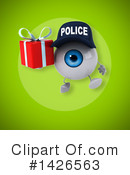 Eyeball Character Clipart #1426563 by Julos