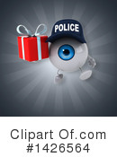 Eyeball Character Clipart #1426564 by Julos