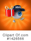 Eyeball Character Clipart #1426566 by Julos