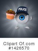 Eyeball Character Clipart #1426570 by Julos