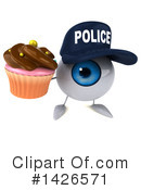 Eyeball Character Clipart #1426571 by Julos