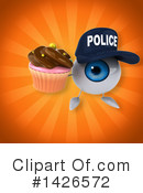 Eyeball Character Clipart #1426572 by Julos