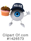 Eyeball Character Clipart #1426573 by Julos