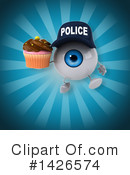 Eyeball Character Clipart #1426574 by Julos