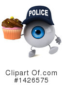 Eyeball Character Clipart #1426575 by Julos