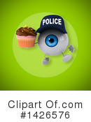 Eyeball Character Clipart #1426576 by Julos