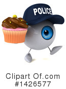 Eyeball Character Clipart #1426577 by Julos